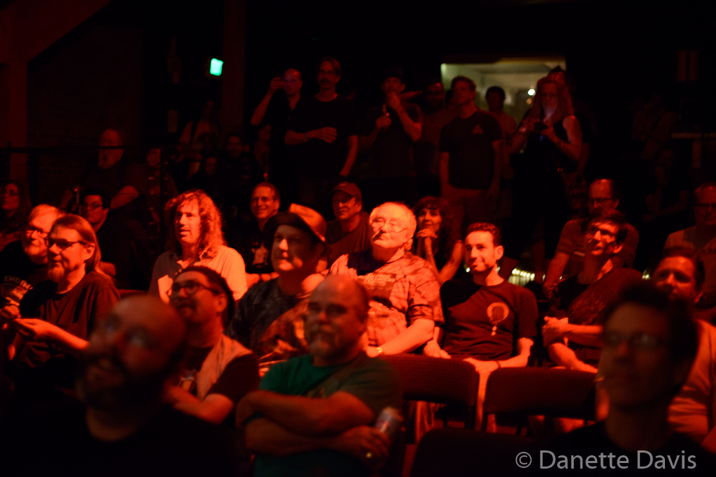 The audience for Nik Turner & Flame Tree, Seaprog 2015, Columbia City Theater, 9 August, 2015. (Photo by D. Davis)
